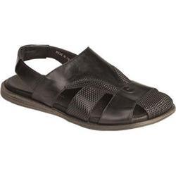 Men's Bacco Bucci Sean Sandal Black Calf Leather