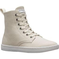Women's Dr. Martens Hackney 7 Eye Boot Ivory Canvas