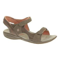 Women's Hush Puppies Zendal Quarter Strap Taupe Leather/Suede