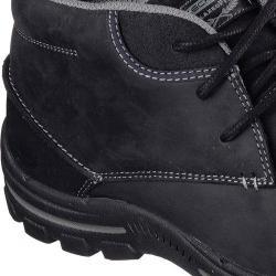 Men Skechers Fit Braver Horatio Boots Black Exclusive Men's