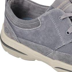 Men's Skechers Relaxed Fit Harper Lenden Oxford Gray