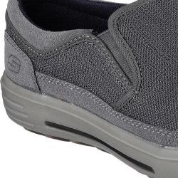 Men's Skechers Skech-Air Porter Vesco Loafer Gray