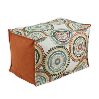 Incogneato Fiesta 12.5-inch x 19-inch Seamed Hassock