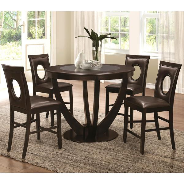 Valencia Casual 5 Piece Counter Height Dininig Set With
