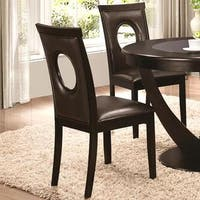 Valencia Casual Oval Back Design Dining Chairs (Set of 2)