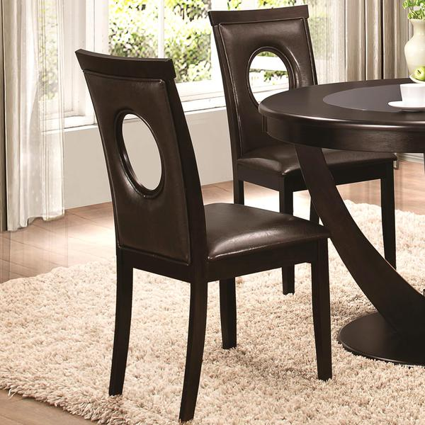 Valencia Casual Oval Back Design Dining Chairs Set Of 2