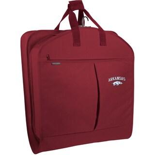 WallyBags Arkansas Razorbacks 40-inch Garment Bag with Pockets