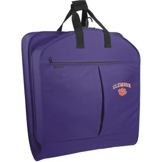 WallyBags Clemson Tigers 40-inch Garment Bag with Pockets