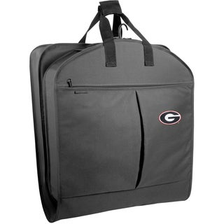 WallyBags Georgia Bulldogs 40-inch Garment Bag With Pockets
