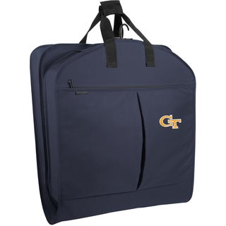 WallyBags Georgia Tech Yellow Jackets 40-inch Pocketed Garment Bag