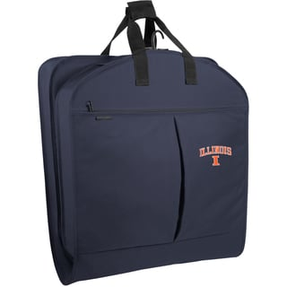 WallyBags Illinois Fighting Illini 40-inch Garment Bag with Pockets