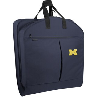 Wally Bags Michigan Wolverines Blue Polyester 40-inch Garment Bag with Pockets