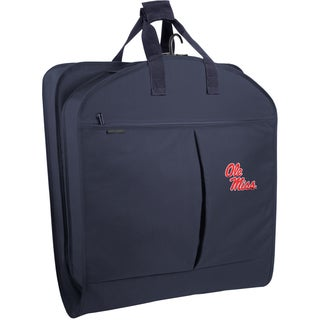 WallyBags Ole Miss Rebels 40-inch Garment Bag with Pockets