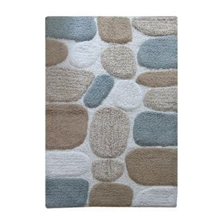 Benzara Pebbles Cotton Mat