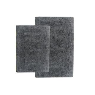 Benzara Black Cotton Hand-woven Bath Set