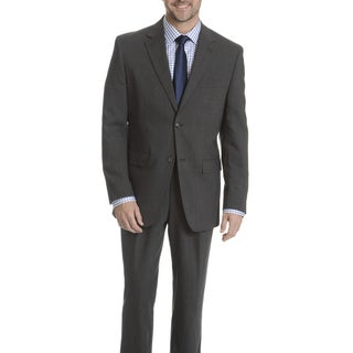 Park Row Men's Grey Classic Fit All-wool Performance Suit (Option: 38r)