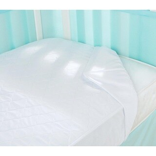 Breathable Baby White Mist Air Mesh Waterproof Mattress Pad Cover