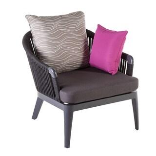Hans Andersen Home Sarpi Aluminum/Sunbrella Lounge Chair