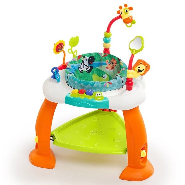 Bright Starts Multi-color Plastic 28.3-inch x 22.7-inch x 7-inch Bounce Bounce Baby
