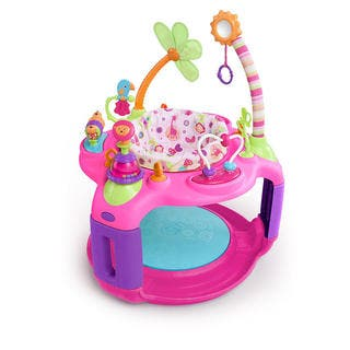 Bright Starts Pretty in Pink Sweet Safari Bounce-a-round|https://ak1.ostkcdn.com/images/products/12003259/P18881085.jpg?impolicy=medium