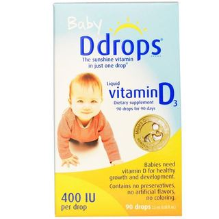 Baby Ddrops 400 IU 90 Drops