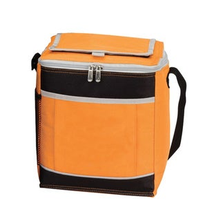 Goodhope 12-can Polyester Mesh Pocket Insulated Cooler Bag