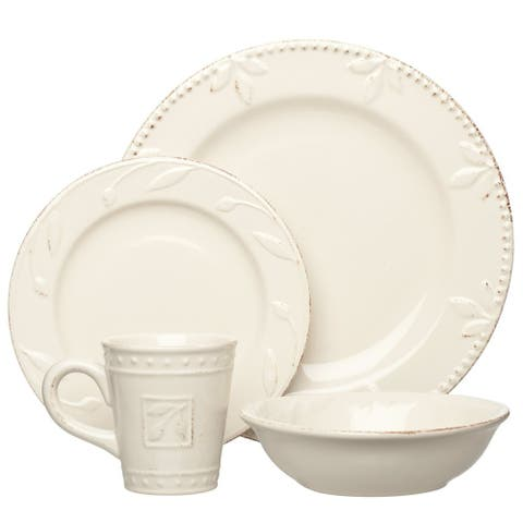 Signature Housewares Sorrento Stoneware 4-piece Place Setting