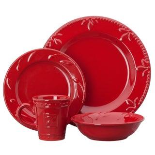 Signature Housewares Sorrento Stoneware 4-piece Place Setting (2 options available)