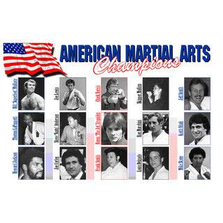 I&I Sports 15 American Martial Arts Champions from 1960s/1970s/1980s 11-inch x 17-inch Display Wall Plaque|https://ak1.ostkcdn.com/images/products/12003487/P18881255.jpg?impolicy=medium