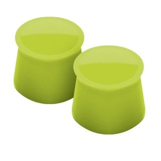 Tovolo Spring Green Silicone Set of 2 Wine Caps