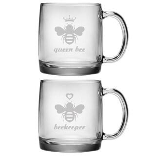 The Hive Coffee Mugs (Set of 2)