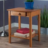 Winsome Studio/Home Office Printer Table With Drawer
