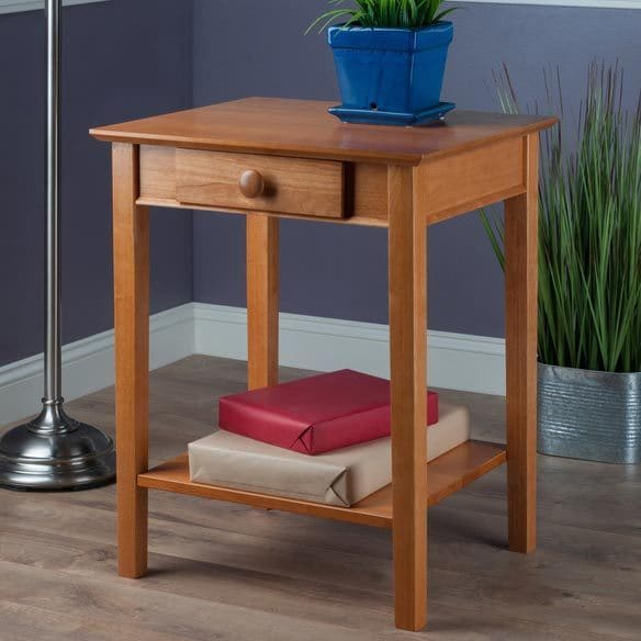 Winsome Studio Home Office Printer Table With Drawer