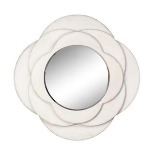 Tabitha Layered Quarterfoil Wall Mirror