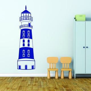 Style & Apply Lighthouse Vinyl Wall Decal