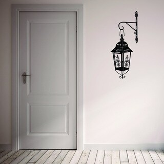 Style & Apply Classic Lamp Vinyl Wall Art Decal