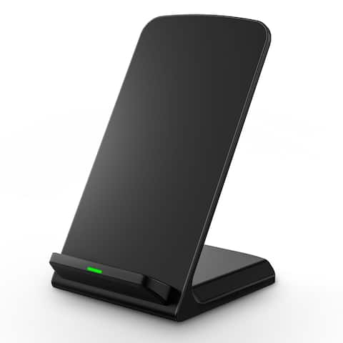 Black Wireless Wall Charger Pad for All QI-enabled Devices (Samsung, Nokia Lumia 920/1020/928, MOTO Droid Maxx/Mini)