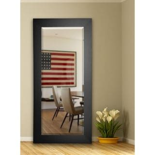 Black USA Versatile Wall Vanity Floor Mirror