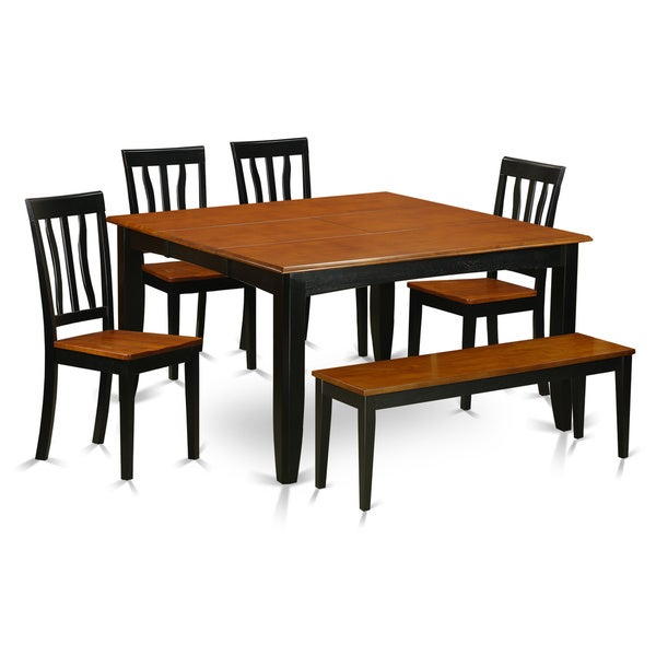 Kitchen Table For 6: Shop PFAN6-BCH 4-chair And Dining Bench 6-piece Kitchen