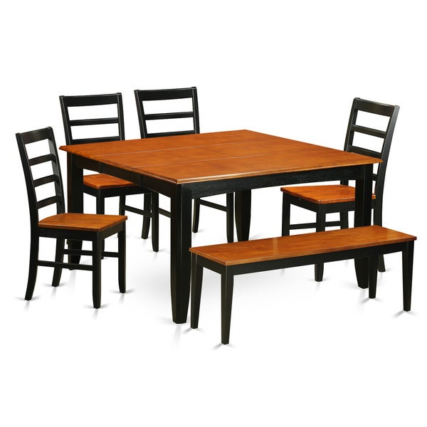 Shop PARF6-BCH 4-chair And Dining Bench 6-piece Dining