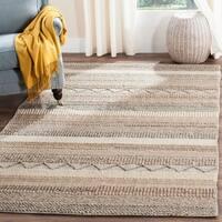 Safavieh Hand-Woven Natura Oakley Beige Wool Rug - 6' x 9'