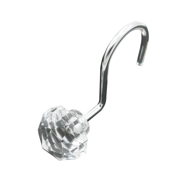 Shower Hooks (set of 12) by Elegant Home Fashions