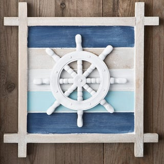 Nautical Ship's Wheel Wall Decoration
