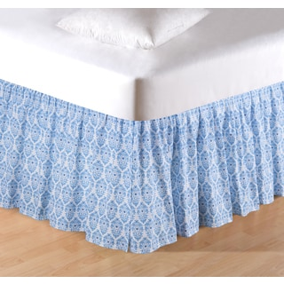 Madeline Quilt Collection 18-inch Bed Skirt