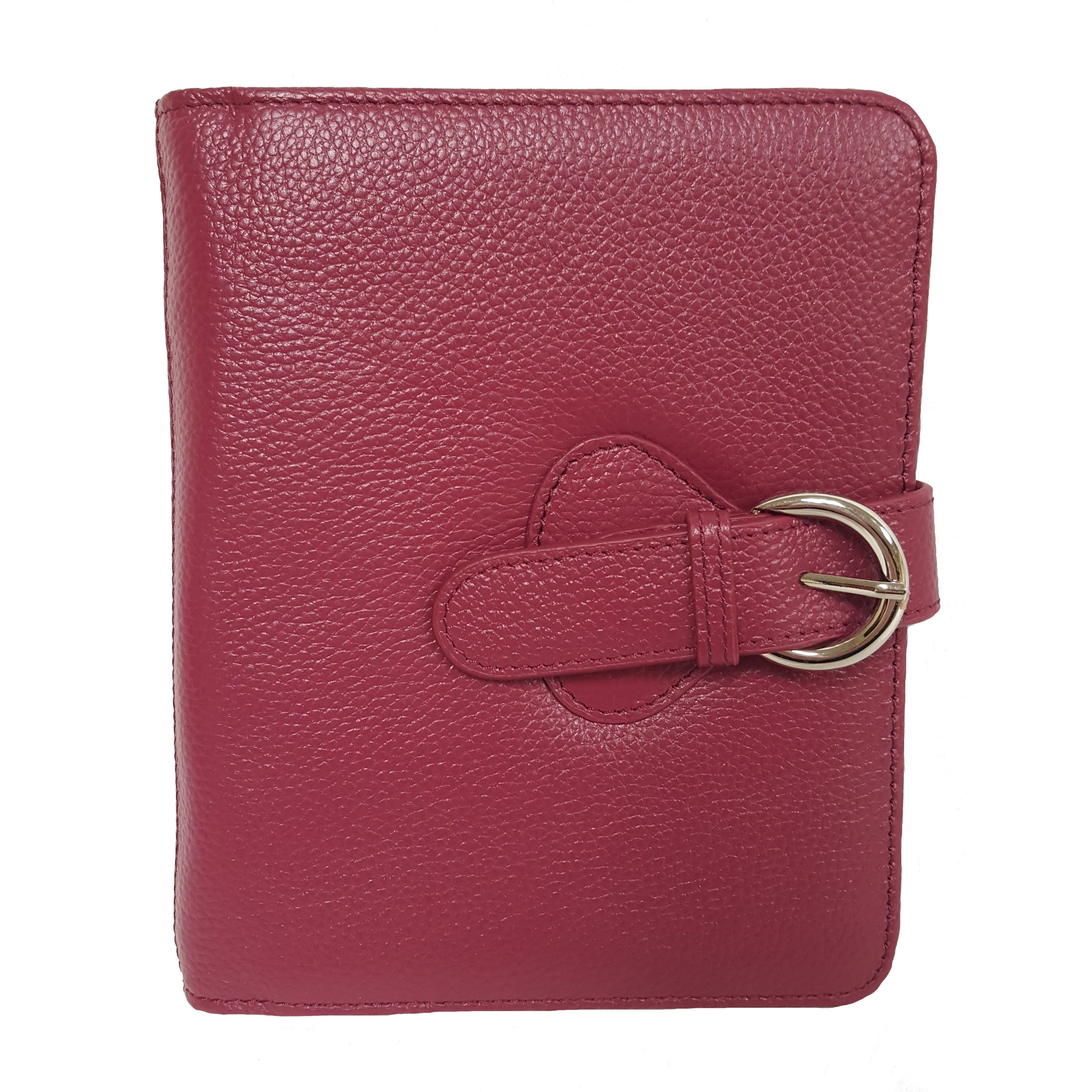 SEAICH Franklin Covey Ava Leather Compact Binder Plum