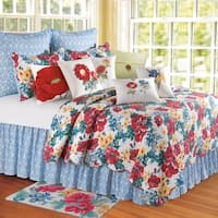 Madeline Collection Multicolored Cotton Standard Sham
