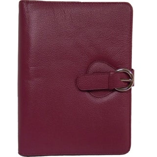 Franklin Covey Ava Leather Binder Classic (Option: Plum)