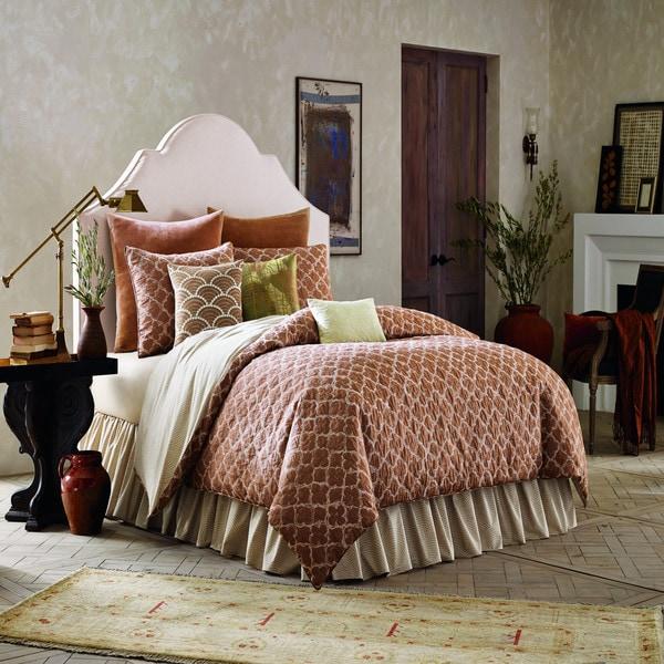 BiniChic Terracotta 4-piece Comforter Set