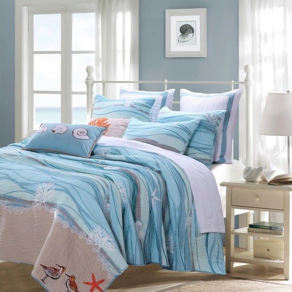 Greenland Home Fashions Maui Bonus Cotton Quilt Set