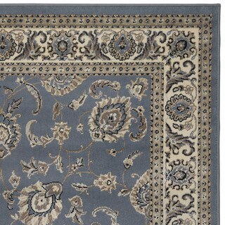 Admire Home Living Tabriz Beige/Blue/Green Artisan Area Rug (7'9 x 11')